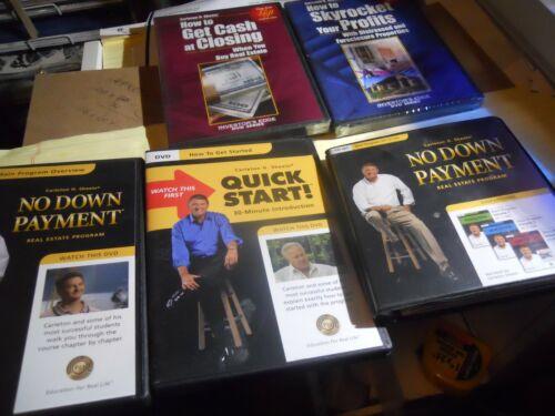 Carleton H. Sheets LOT OF  5 AUDIO/DVDS NO DOWN PAYMENT,QUICK START/GET CASH CL