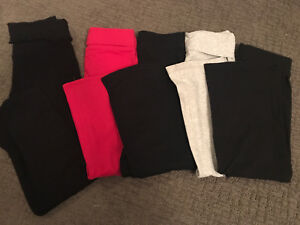 Yoga pants - 5 pairs. GapKids, Circo etc. SZ 6-8