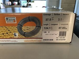 Shluter DITRA HEAR floor heating cable