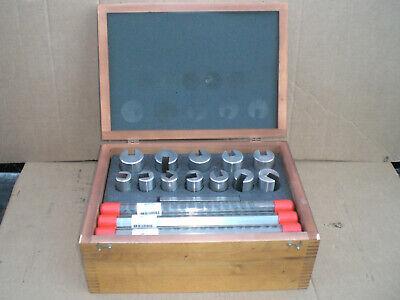 Dumont 80 Metric Broach Set 32-50mm