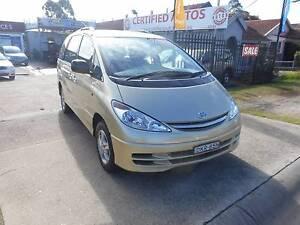 2001 Toyota Tarago Wagon $2000 DEPOSIT RENT TO OWN Holroyd Parramatta Area Preview