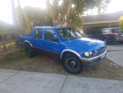 Holden rodeo duel cab 4x4