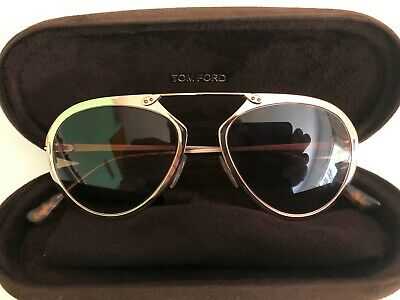 Tom Ford Sunglasses Womens Dashel TF508 28F 53 18 145 2 Gold / Brown