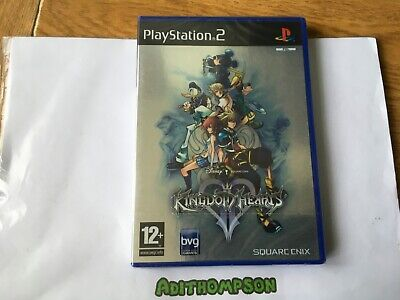 Kingdom hearts II 2 game Ps2 Sony PlayStation 2 brand new & sealed
