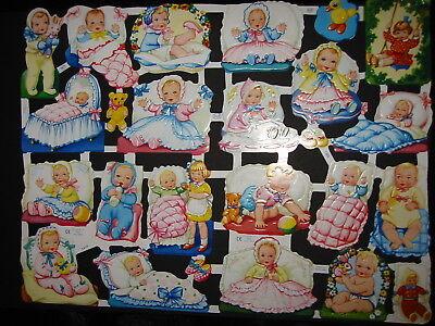 # GLANZBILDER # kompletter Großbogen MLP 1302 & 1414 Baby - Klassiker von MLP