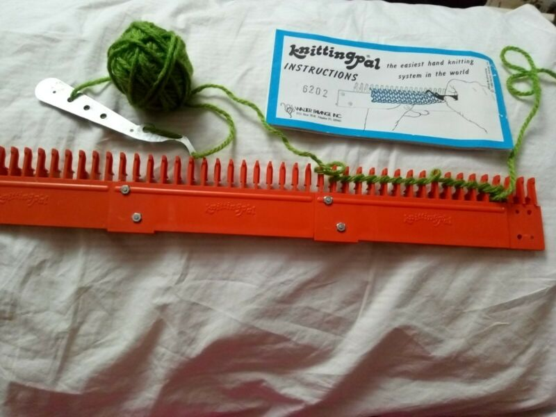 Knitting Pal-handstitch Loom easy knitting - instructions needle