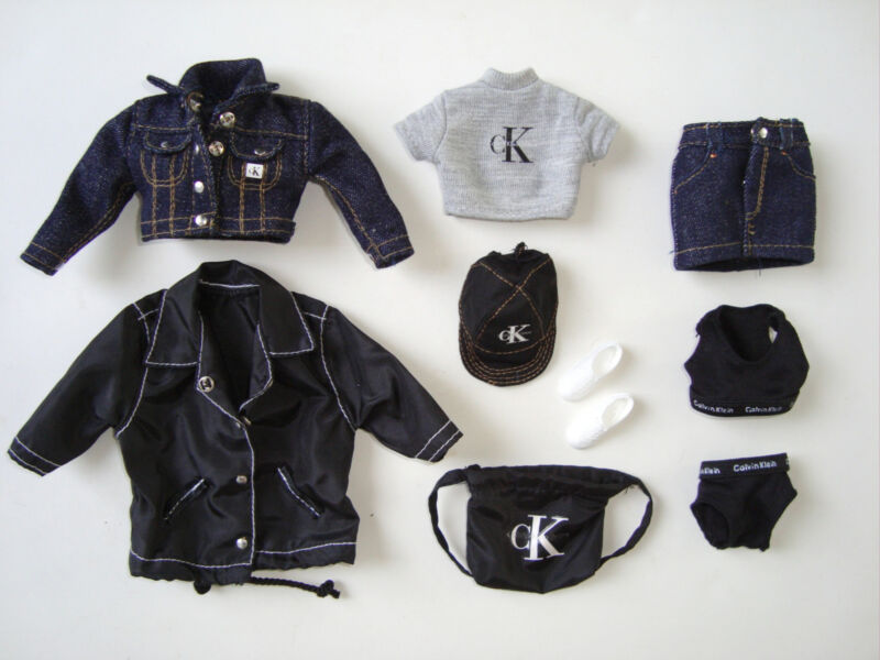 BARBIE Clothes/ Fashions Adorable Denim Outfit W/ Acc. NEW!