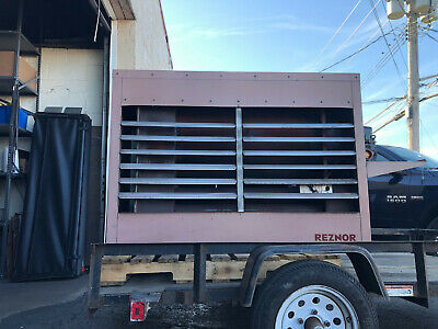 Reznor Rad350 Used Waste Oil Heaterpre-owned Fully Reconditioned