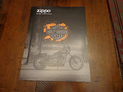 HARLEY DAVIDSON ZIPPO LIGHTER CATALOG 2017 UNUSED