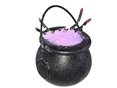 Halloween Bath Bomb Witches Brew Cauldron Lavender 7oz with Surprise Toys Inside - Halloween Bath Bomb