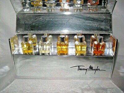 BOXED SET OF FIVE THIERRY MUGLER PERFUMES MIB