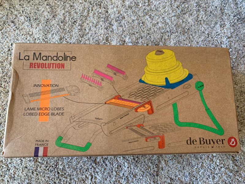 Open Box de Buyer Revolution Dicing La Mandoline Made in France Vegetable Dicer