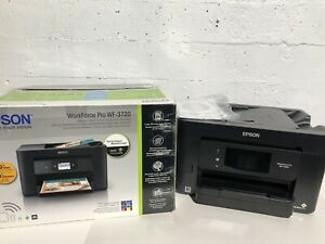 EPSON WORKFORCE WF-3720 COLOR INKJET ALL-IN-ONE PRINTER- mnx