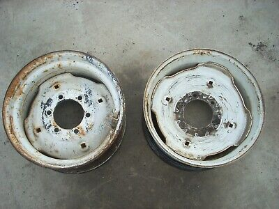 New Holland Tc45d Tractor Front Wheels 16.5 X 8.25 86400350