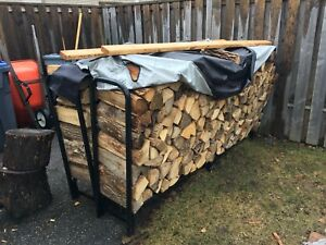 Mixed dried seasoned hardwood Firewood 2/3 bush cord