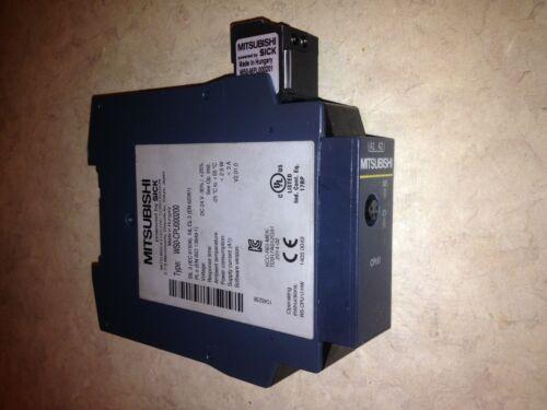 MITSUBISHI WS0-CPU000200 SAFETY PROCESSOR USED