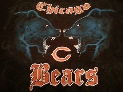 Chicago Bears Black Face (CHICAGO BEARS New with tags FACE - OFF  T-Shirt BLACK shirt NFL )