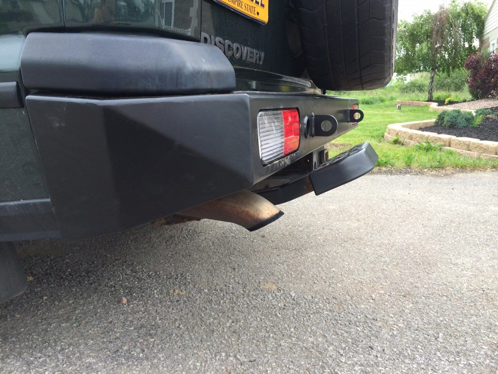 Land Rover Discovery 2 Rear Heavy Duty Steel Bumper Ebay