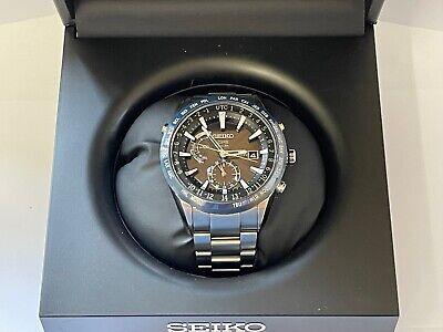 Seiko Astron GPS Satellite Controlled Solar Luxury Watch Made in Japan SAST023G