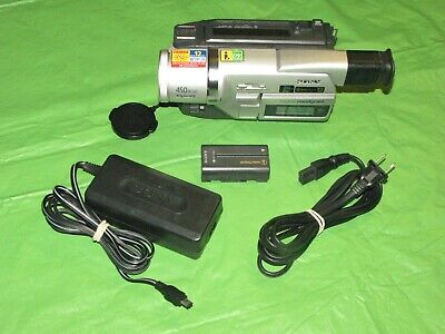 Sony DCR-TRV120 Digital8 Camcorder - Record Transfer Watch VCR Hi8 Video 8 Tapes