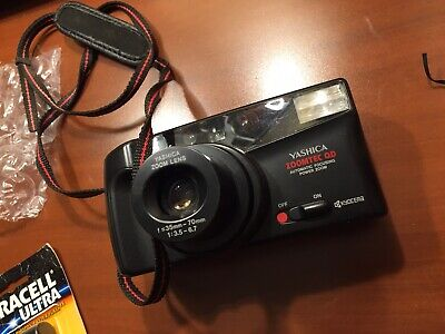 Yashica ZoomTec QD Point and Shoot Film Camera 35mm