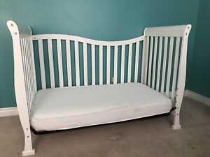 Crib and therma cool mattress