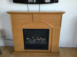 Electric Fireplace / mantle $40 TODAY ONLY