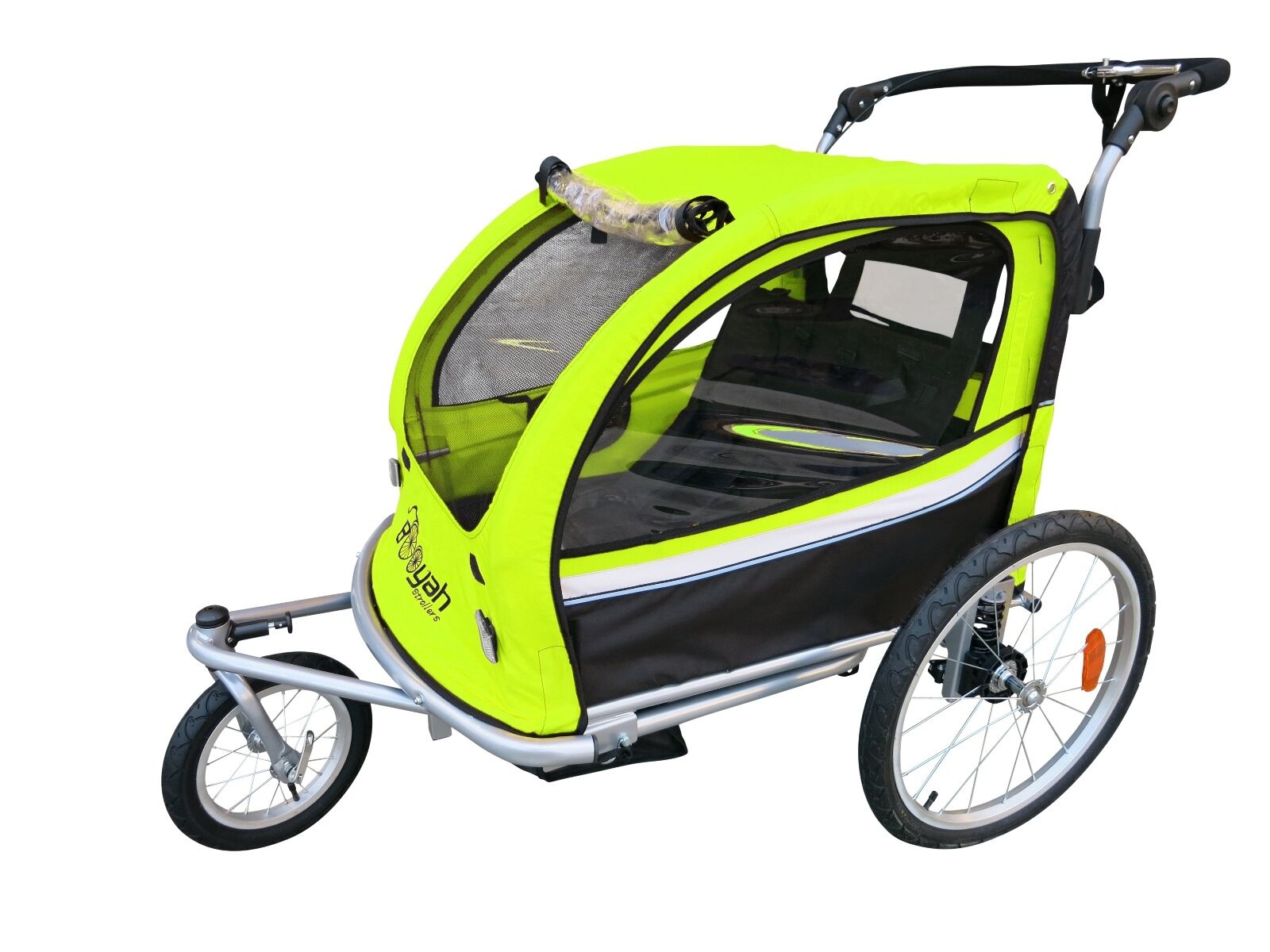 Booyah Strollers Baby Child II Bike Bicycle Trailer, Strolle