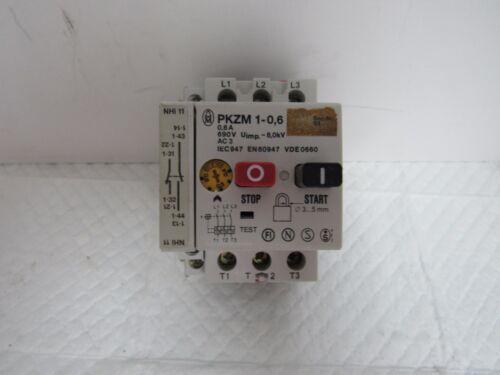 KLOCKNER MOELLER PKZM 1-0,6 MOTOR STARTER