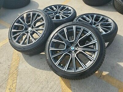 "20"" BMW 2019 M 740i 750i 650i OEM 6 7 Series wheels rims tires 2017 2018 2020"