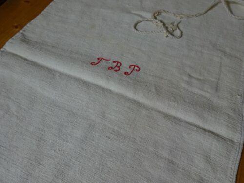 Antique European Feed Sack GRAIN Sack FBP Monogram # 10145