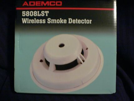 Ademco 5808LST Wireless Smoke & Heat Detectors (FOUR PACK) NIB Castle Hill The Hills District Preview