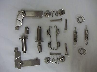 65   82 Corvette parking brake  E  brake hardware Stainless Steel NEW KIT