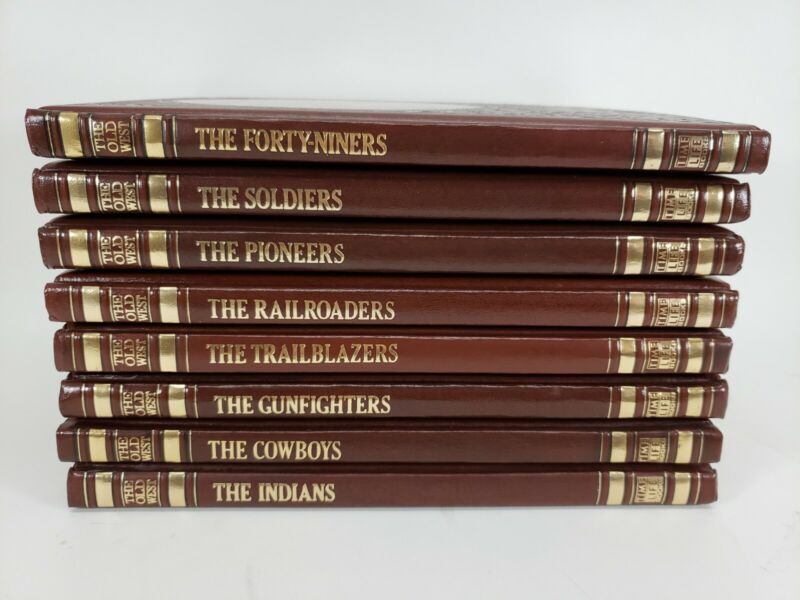 The Old West Time Life Western Series Lot Of 8 Books. EUC