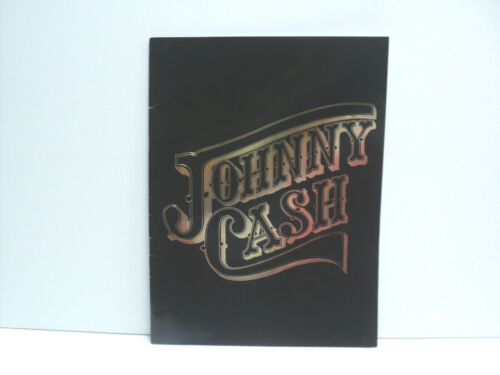 Johnny Cash Souvenir Book Country Music, 1980