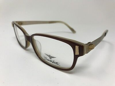 Dakota Smith Los Angeles Eyeglasses Womens Designer DS-1014 54-16-135 Brown (Designer Eyeglasses Los Angeles)