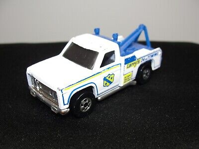 1974 Hot Wheels Blackwall Ramblin' Wrecker Larry's Towing Flying Colors