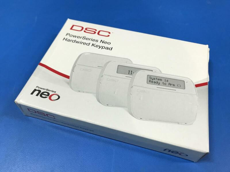 DSC Security HS2LCDENG Power Series Neo Hardwired Keypad V1.31