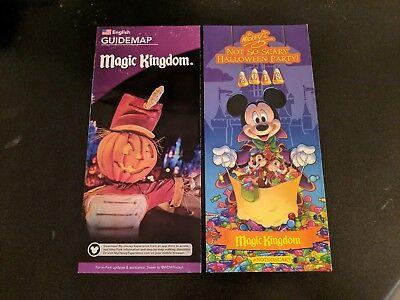 Disney World Mickey's Not So Scary Halloween Party 2018, and Park Map](Disney World Mickey Mouse Halloween Party)
