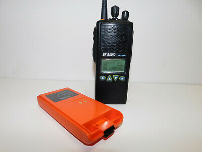 Bk Bendix King Relm Kng-p400s Uhf P25 Digital Portable Radio Aes-256 Des-ofb