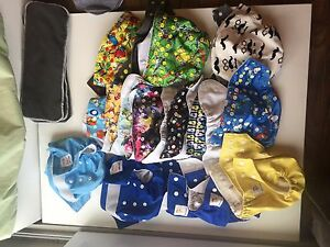 Pocket Cloth Diapers, Diaper Pail, Inserts Great for Beginners