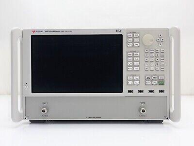 Keysight Used E5080a Ena Series Network Analyzer 2 Port 9 Khz - 6.5 Ghz Opt. 265