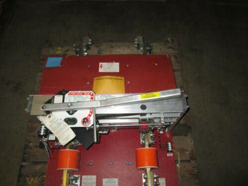 Sa-3175 Pringle Switch 2500a 600vdc 120v Shunt Trip Red Back Plate Used E-ok