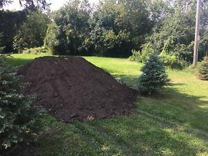Free top soil drop off