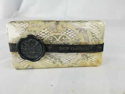 MOR cosmetics emporium milled Soap Bar 5.6 Oz. velvety soft snow gardenia skin