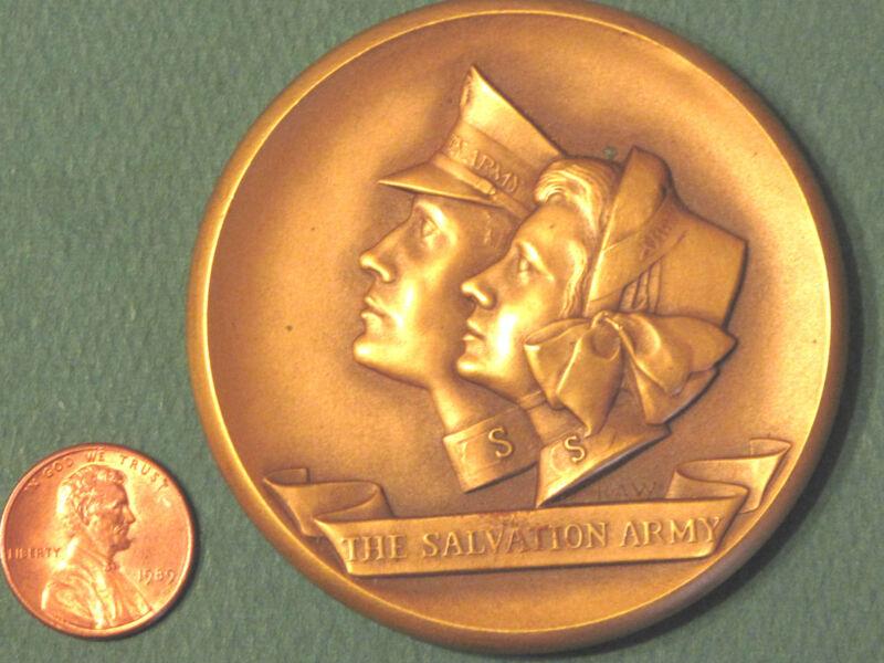 RARE Non Dated THE SALVATION ARMY Centennial Medal 1965 by Robert A Weinman Coin