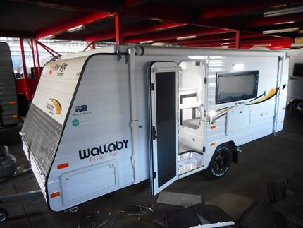 New Age Caravan 15ft series Wallaby