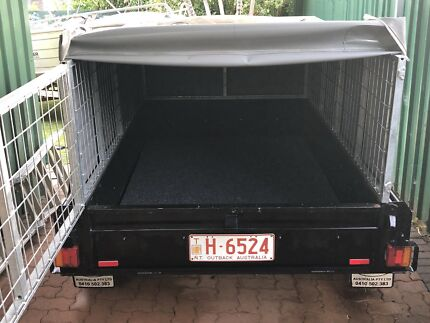 6x4 Box Trailer with lockable cage and waterproof canopy $2250 ONO