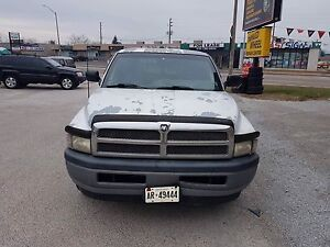 1994 to 2001 Dodge Ram front bumper !!