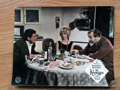 LOVE ON A PILLOW German lobby card #10 BRIGITTE BARDOT 1962 LE REPOS DU GUERRIER
